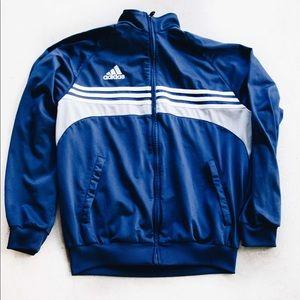 Adidas Navy Blue Track Jacket